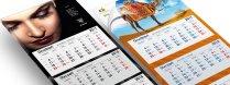 Tanie kalendarze trójdzielne