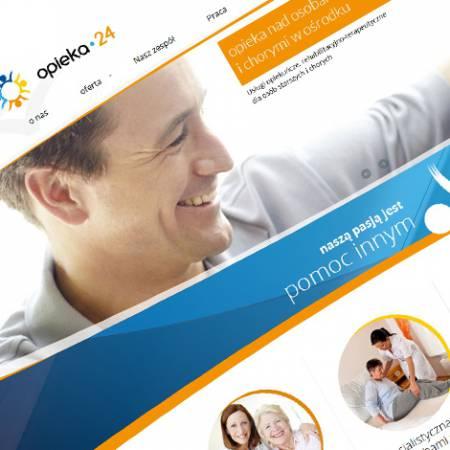 Strona www Opieka-24