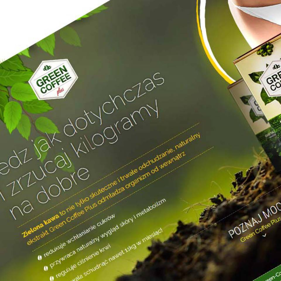 Landingpage GreenCoffee